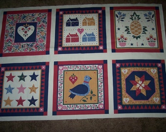 6 DIY pillow panels  - 3028