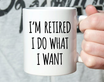Fathers Day Gift from Daughter Retirement Gift for Man Retirement Gifts for Women Funny Retirement Gift Ideas Retirement Gift for Men Mug