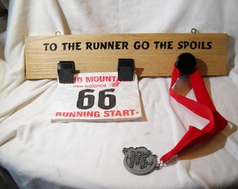 Racing Bib and Medals Display Racing bib holder
