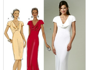 Pick Your Size - Butterick Dress Pattern B5710 - Misses' Wedding or Bridesmaids Dresses - Pippa's Dress Clone - Royal Wedding