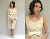 Crochet Dress  //  Cotton Lace Dress  // THE NYMPH