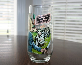 Vintage Star Wars The Empire Strikes Back 1980 Burger King Collectible Glass