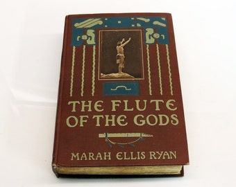Flute of the Gods Marah Ellis Ryan 1909 First Edition Edward Curtis Sepia Gravure Photography
