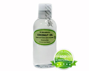 4 oz Organic Fractionated Coconut Oil 100% Pure