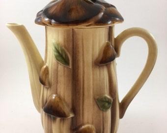 Vintage Mushroom Teapot