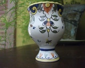 Italian  Egg Cup Hand Painted Deruta
