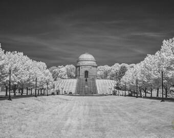 William McKinley National Memorial Fine Art Infrared Print, Canton Ohio