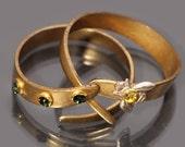 Stacking Rings Bee Ring Stacking Ring Set Honey Bee Ring