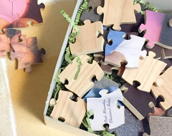 80 Piece Wooden Jigsaw Puzzle, Photo Puzzle, Personalized, Custom, 9x12.5 inches
