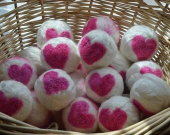 BAMBOO Dryer Balls--Vegan--Set of 3