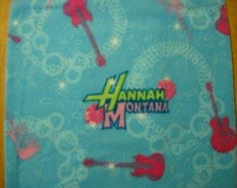 """Hannah Montana Fleece Pillow Cover-16""""x 16"""""""