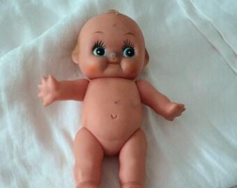 Vintage Plastic Kewpie Doll Made in Taiwan