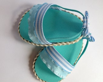 NEW! One pair of sandals, made to fit 18 inch American Girl doll