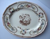 Vintage Royal Doulton The Beaufort Oval Bone China Serving Platter