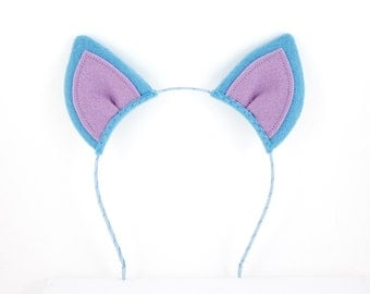 Bat Ears Game Character Headband Halloween Cosplay Felt Bat Ears