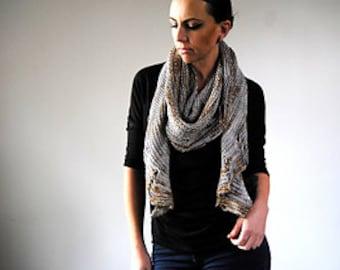 MAIM Shawl Yarn & Pattern Kit - Merino/SIlk DK