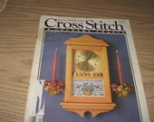 Vintage Cross Stitch & Country Crafts January February 1988 Magazine