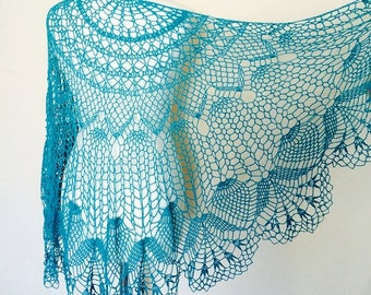 MADE TO ORDER, Crochet Lace Shawl, Crochet Lace Cape, Bridal Lace Shawl, Hand Made Shawl