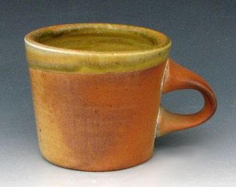 WOOD-FIRED MUG #27 - Wood-Fired Pottery - Stoneware Mug - Coffee Mug - Coffee Cup - Studio Pottery