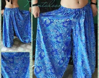Royal Blue Brocade 4yd Pantaloons