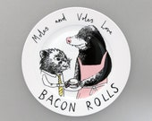 Moles and Voles side plate