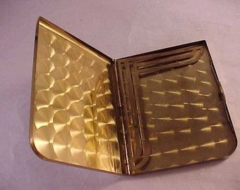 Elgin American Gold Tone Cigarette Case