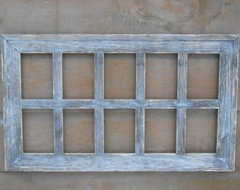Maine Barn Wood Collage Frames Family Size 10 Hole