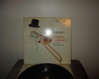 Tommy Dorsey vinyl record - Original - Yes, Indeed vinyl - Original Lp in Excellent Plus Condition