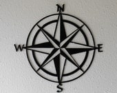 Compass Rose, Nautical Chart, Windrose, Rose of the Winds, Directional art