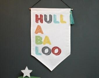 Hullabaloo Fabric Wall Hanging