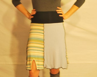 Recycled sweater skirt small  ss0012