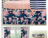 Custom Navy Floral Coral Set for bhamilton1228