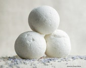 Bath Bomb Set, Spring- A blend of  Lavender and Ylang Ylang Essential Oil Bath Bombs