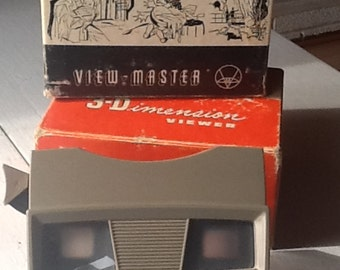 Vintage View-Master With Box