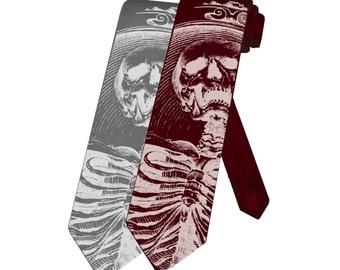 Heaven's Sinners Skull Necktie