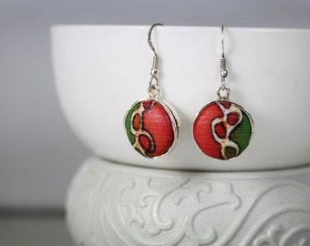 Dangle Earrings, Silver Dangle Drop Earrings, Minimalist Dangle Earrings Sterling Silver 925