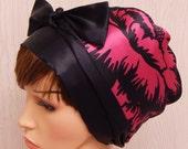 Womens satin head scarf, silky hair bonnet, satin sleeping cap, bad hair day hair scarf, Jewish head covering, silky head wrap, gift idea