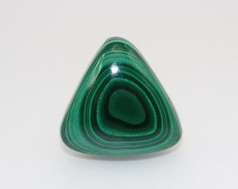 Flash Sale Triangle Shaped Malachite Cabochon