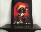 Kali Barbie Art Photo Print
