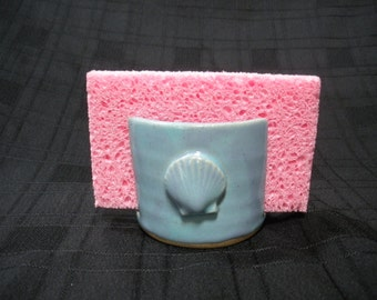 Kitchen Sponge Holder with Shell