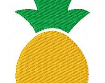 Pineapple // Summer Fruit Tropical // Machine Embroidery Design // Joyful Stitches