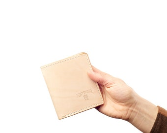 Bifold Wallet: Natural