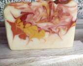 Cold Process Soap - Made with Hard Apple Cider - Orange / Fig / Apple / Plum / Cloves / Black Currant