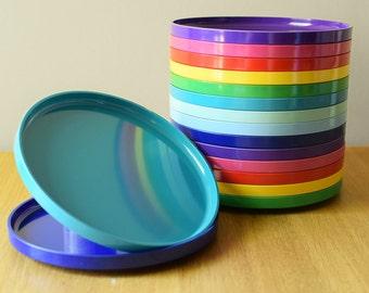 """Vintage Heller Side Salad Plate 7.5"""" Massimo Vignelli"""