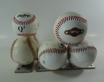 RESERVED Old Pair of Baseball Book Ends Milwaukee Brewers