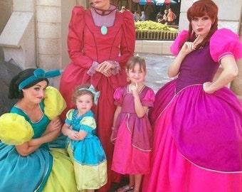 Anastasia or Drizella Cinderellas wicked Step Sisters dress up Dress Halloween costume