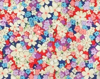 London Florals Nancy Gere Windham fabric FQ or more