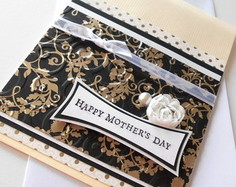 Mothers Day Greeting Cards: Handmade Blank Note Card - Miss Mitsi