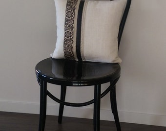 Cushion Cover: Downton Abbey Fabric and Linen