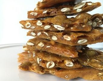 Chipotle Pepita Brittle Salty Sweet Crunchy Brittle